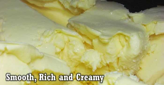 Smooth, Rich & Creamy